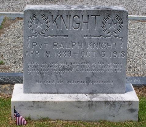 Ralph Knight, Beaver Dam Cemetery, Ray City, GA