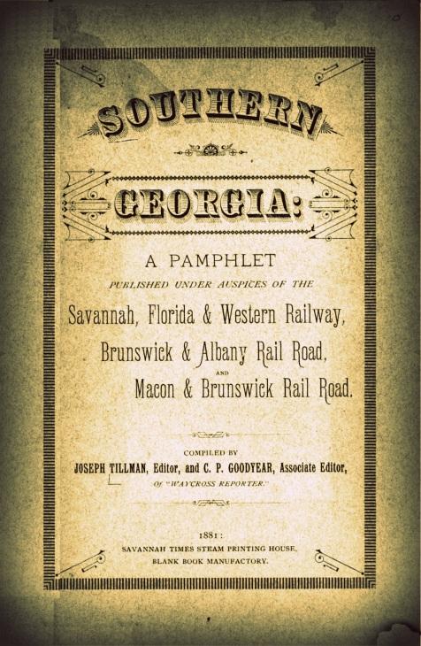Southern Georgia: A Pamphlet  - 1881