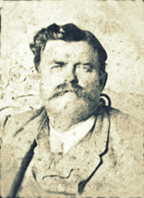 "Sullivan Jordan ""Sovin"" Knight. Image courtesy of  the Berrien Historical Foundation www.berriencountyga.com"