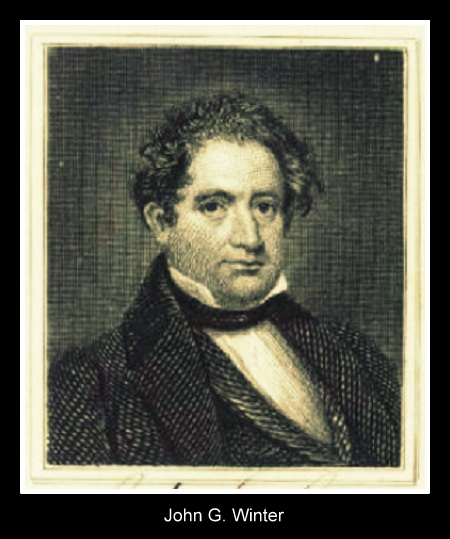 John G. Winters, a prominent citizen of Columbus GA, was president of the Bank of St. Mary's in the 1840s.