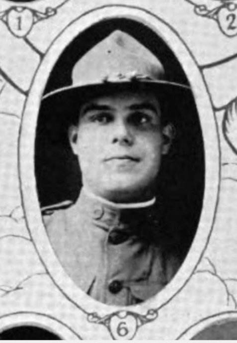 Sergeant Charles A. McDonald, of Galesburg, IL, was one of 17 men who survived the swim from the wreck of the HMS Otranto to the rocky coast of Islay, Scotland