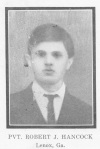 Robert J. Hancock ~ WWI ~ Berrien County, GA