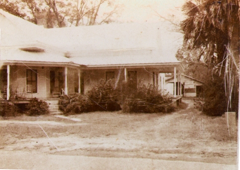 Home built circa 1917 for Francis Marion and Rachel Horne Shaw was later the residence of Gordon V. Hardie and wife, Addie Hodges Hardie.