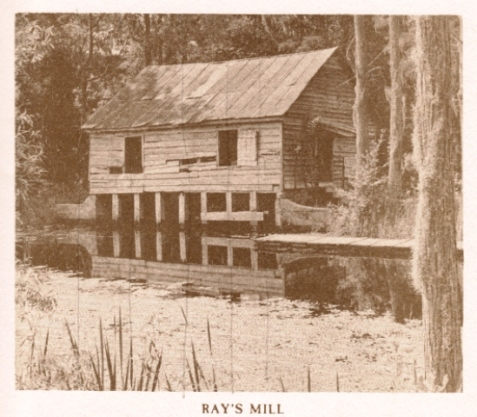 Ray's Mill, Ray City, Berrien County, GA