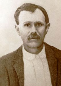 Samuel Augustus Calhoun, circa 1907. By 1910 he was farming at Ray City, GA