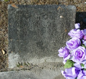 "Sarah ""Sallie"" Rouse Griner, New Ramah Cemetery, Ray City, Berrien County, Georgia."