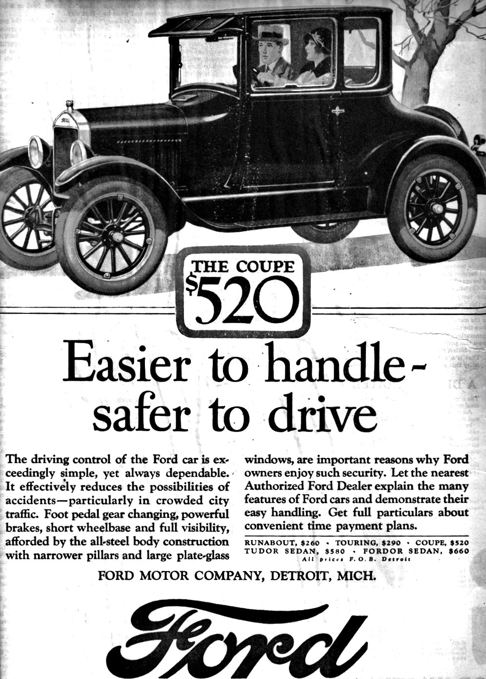 effie knight and the 1926 ford coupe installment plan ray city history blog. Black Bedroom Furniture Sets. Home Design Ideas