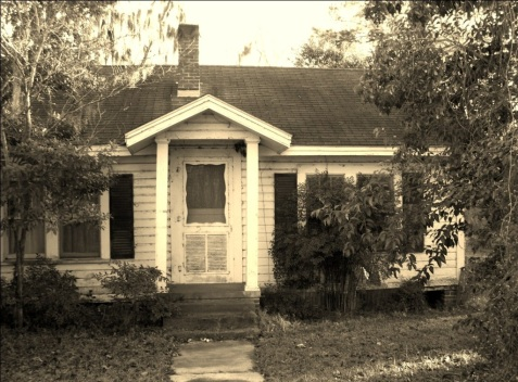Home of Ferris and Bertice Moore. Ray City, GA.
