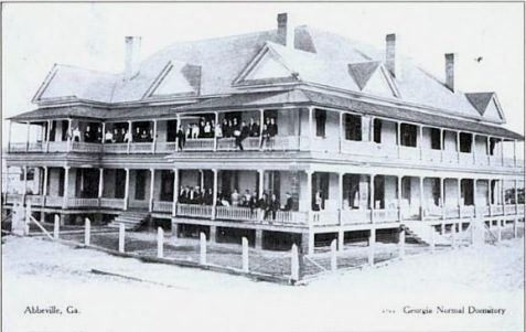 """Central Hotel"" - Dormitory at Georgia Normal College and Business Institute in Abbeville, GA"