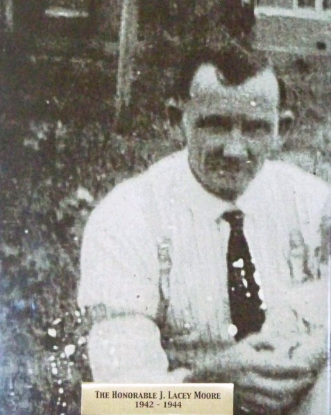 James Lacy Moore. Mayor of Ray City, GA. 1942-1944