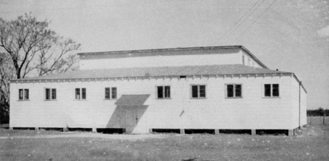 The Ray City School Gymnasium, Ray City, GA was completed in 1947.