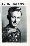 A. C. Hester, Class of 1951, Ray City School, Ray City, GA