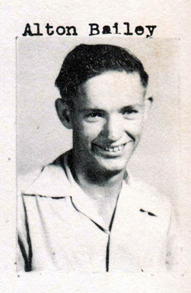 Alton Bailey, Class of 1951, Ray City School, Ray City, GA