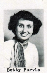 Betty Purvis, Class of 1951, Ray City School, Ray City, GA