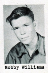 Bobby Williams, Class of 1951, Ray City School, Ray City, GA