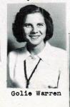 Golie Warren, Class of 1951, Ray City School, Ray City, GA