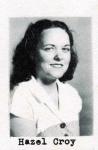 Hazel Croy, Class of 1951, Ray City School, Ray City, GA
