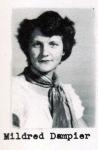 Mildred Dampier, Class of 1951, Ray City School, Ray City, GA