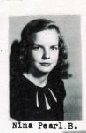 Nina Pearl B., Class of 1951, Ray City School, Ray City, GA