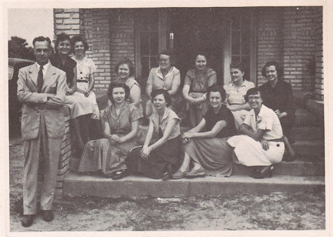 Ray City School Teachers 1950-51, Ray City, Berrien County, Georgia