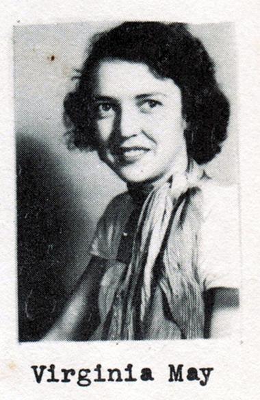 Virginia May, Class of 1951, Ray City School, Ray City, GA