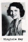 Virginia May, Class of 1951, Ray City School, Ray City, GA