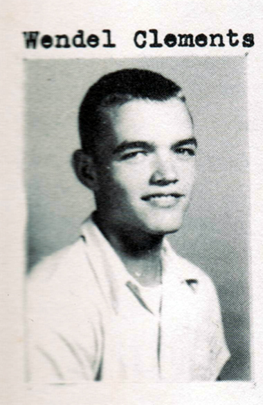 Wendel Clements, Class of 1951, Ray City School, Ray City, GA