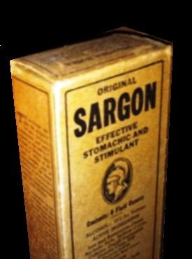 Sargon tonic was perhaps the most popular quack medicine of the Depression era.