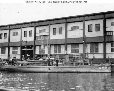 USS Tacony, in port November 29, 1918