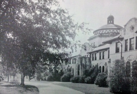 West Hall, Georgia State Womans College, 1937, Valdosta, GA. The institution is now known as Valdosta State University.