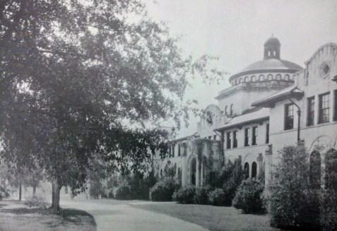 West Hall, Georgia State Womans College, 1937, Valdosta, GA. The institution is now known as Valdosta State University.