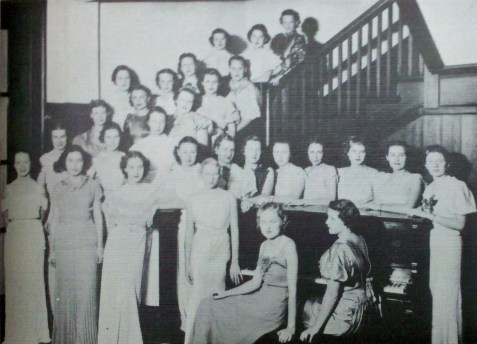 1937 Glee Club at Georgia State Womans College.