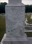 Gravemarker of Mary A. Baskin, Beaver Dam Cemetery, Ray City, GA.