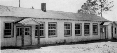Ray City School lunch room, 1952-53.