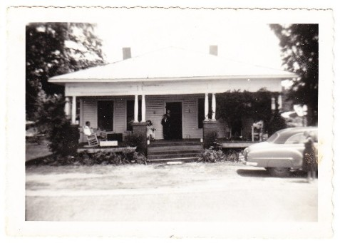 Jasper Nobles built this house on Jones Street, Ray City, GA on land that once belonged to Thomas M. Ray.