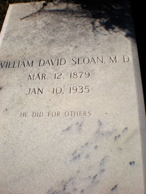 Grave of William David Stone (1879-1935, Wayfare Primitive Baptist Church Cemetery, Echols County, GA.