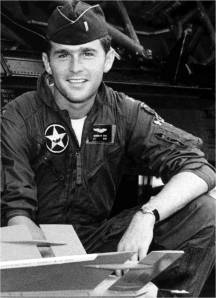 George Walker Bush graduated from flight school at Moody Air Force Base near Ray City, GA