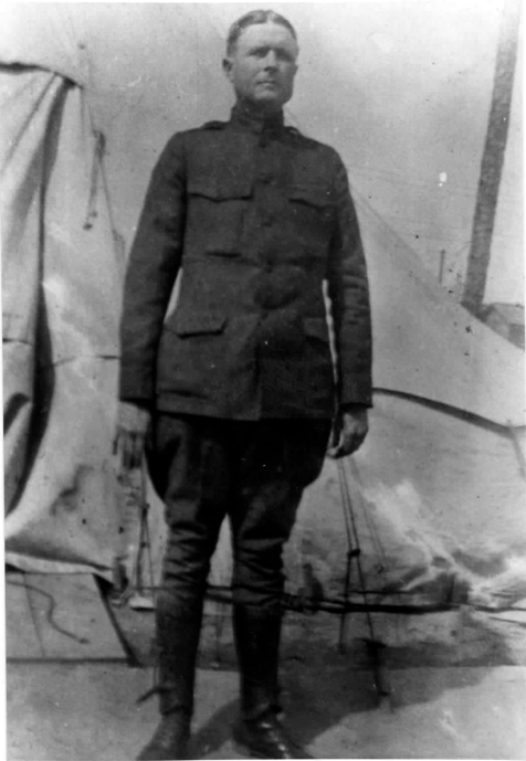 Dr. William David Sloan, Army Medical Service, WWI. (image courtesy of http://berriencountyga.com/)