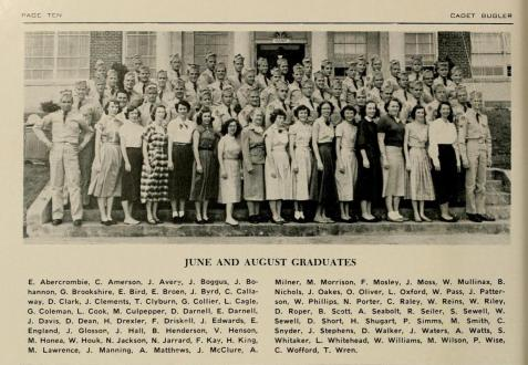 Joe D. Clements, of Ray City, GA  with North Georgia College  Summer 1953 Graduating Class