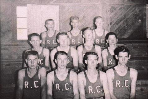 1950-51 Beavers, Ray City School boys basketball team, Ray City, GA