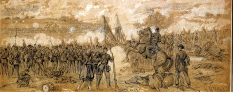 The 61st Regiment, Georgia Volunteer Infantry was present at the Battle of Gaines' Mill. The Battle of Gaines's Mill, sometimes known as the First Battle of Cold Harbor or the Battle of Chickahominy River, took place on June 27, 1862, in Hanover County, Virginia, as the third of the Seven Days Battles.