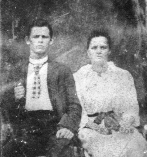 John Jefferson Beagles and Nancy Catherine Wright Beagles