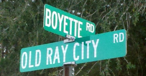 Boyette Road near Ray City, GA.