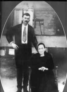 Edward John Boyette and Mary Jane Sirmans, circa 1900. Image courtesy of I. Mitchell Calhoun.