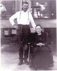 John Boyette (1865-1938) and Mary Jane Sirmans Boyett (1867-1946). John Boyett's land consisted of more than 1000 acres situated in present day western Lanier County, GA. (Image courtesy of http://berriencountyga.com/)