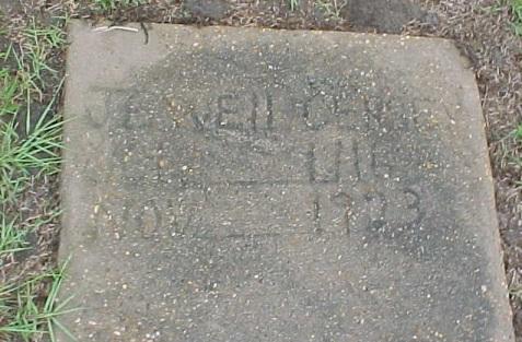 Grave of Jewel Cersey (1916-1923), Beaver Dam Cemetery, Ray City, GA.