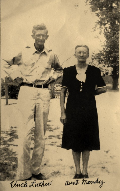 Luther Etheldred Langford and Amanda Asbell