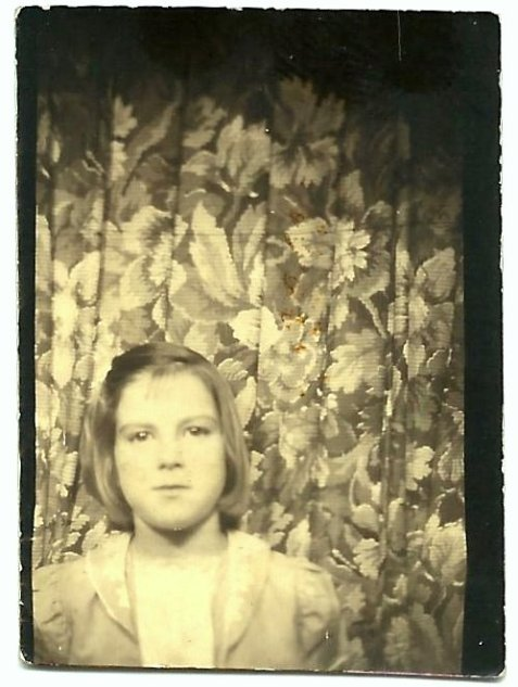 Diane Miley, Ray City, Berrien County, GA circa 1940.