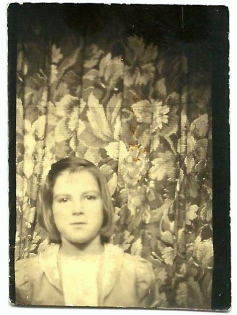 Diane Miley, Ray City, Berrien County, GA circa 1940.