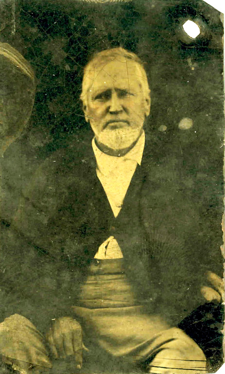 Ansel Parrish (1824 - 1891). Image courtesy of http://berriencountyga.com/